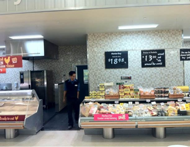 Coles Warwick Refurbishment