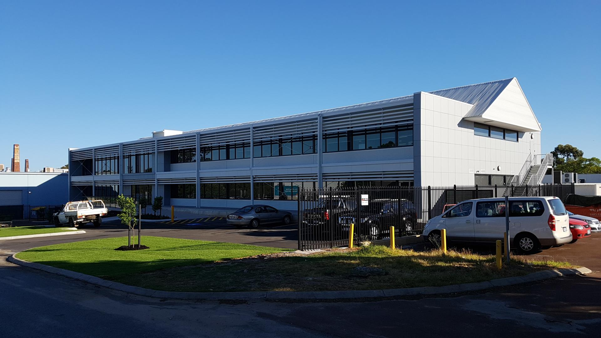 New Office Building for GR Engineering Services Limited